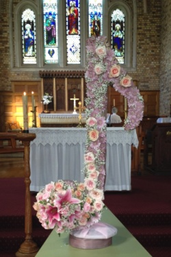Musical Note Floral Tribute