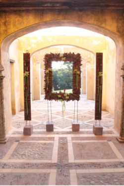 Calla and Orchid Entrance