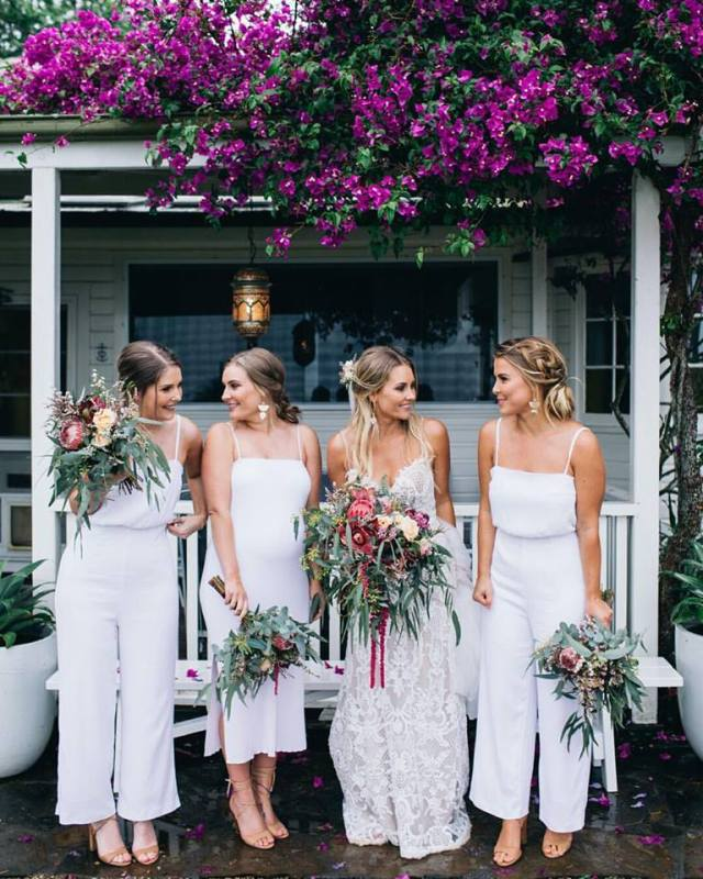 Haili and her maids, Figtree Wedding Photography