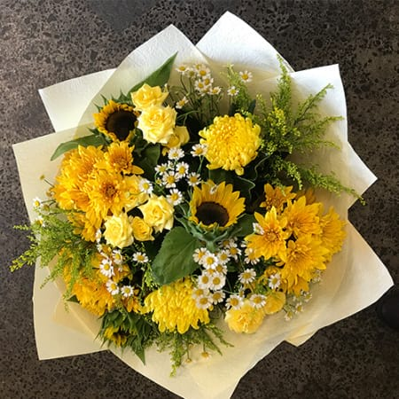 Yellow Bouquet Premium Size Bouquet