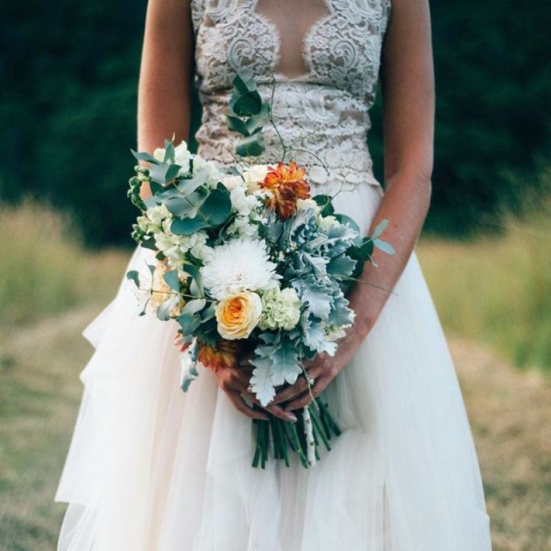 Shani's bouquet, Graham Murray Photography
