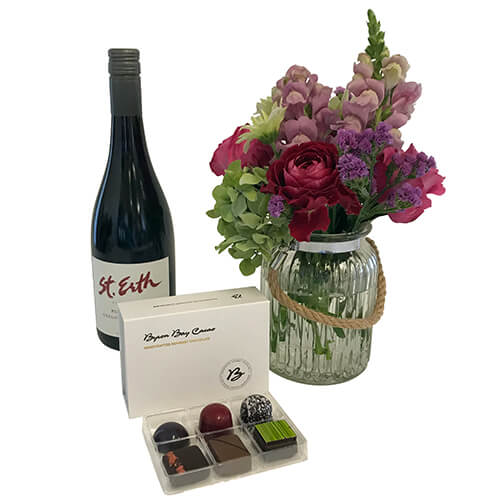 Mothers Day Gift with Wine