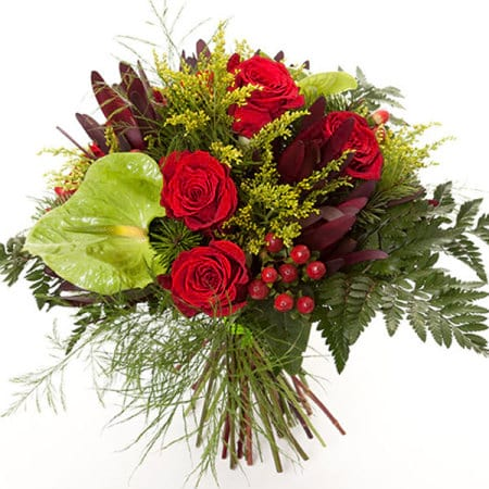 Bouquet of Christmas Flowers