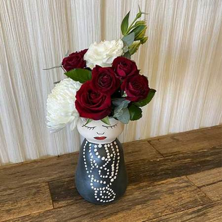 Miss Coco Face Vase