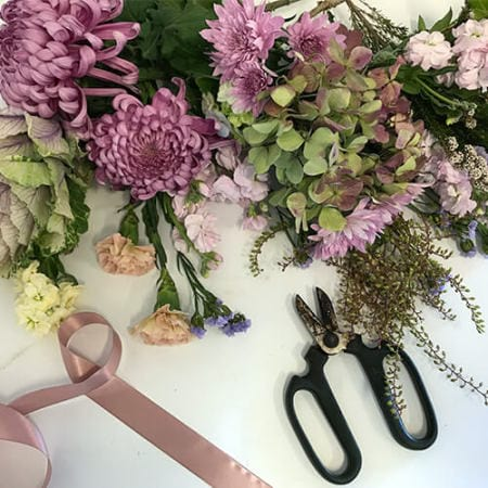 Flowers in Pinks and Purples