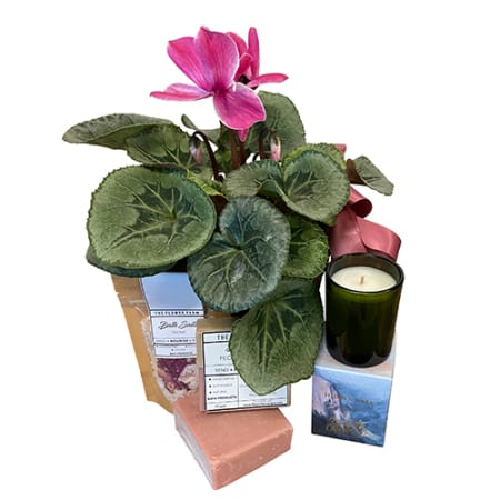 Cyclamen and Peony Bath Products Gift Box