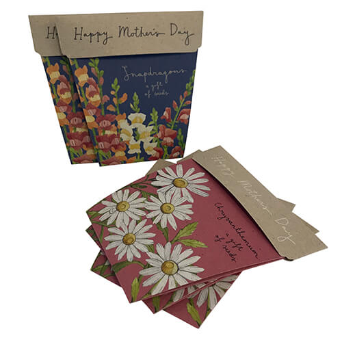 Mothers Day Gift Card of Seeds